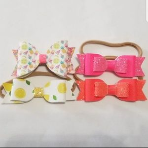 Other - Handmade baby girl bows headbands